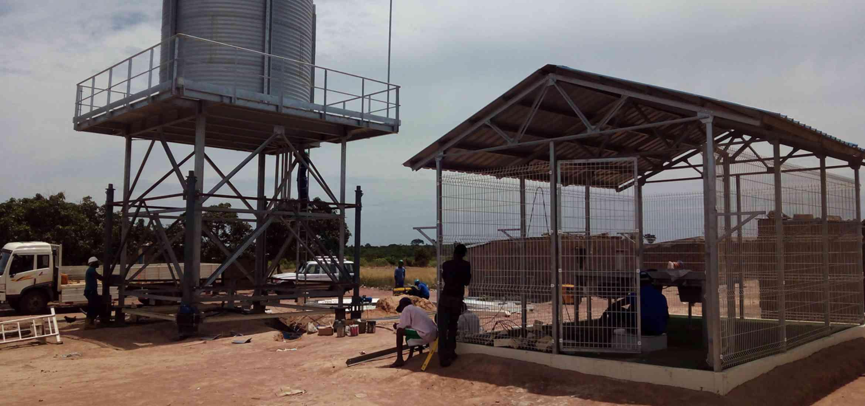 otros equipamientos distribución de agua